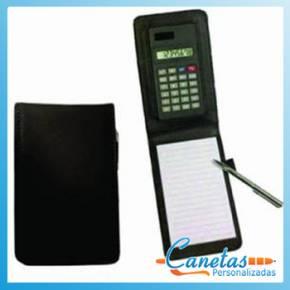 Bloco de Anotações com Calculadora Personalizada