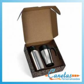 Squeeze Térmica Personalizada com Caneca